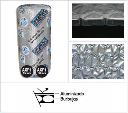 Aislamax Burbuja Aluminizada